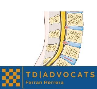 incapacidad laboral por hernia discal